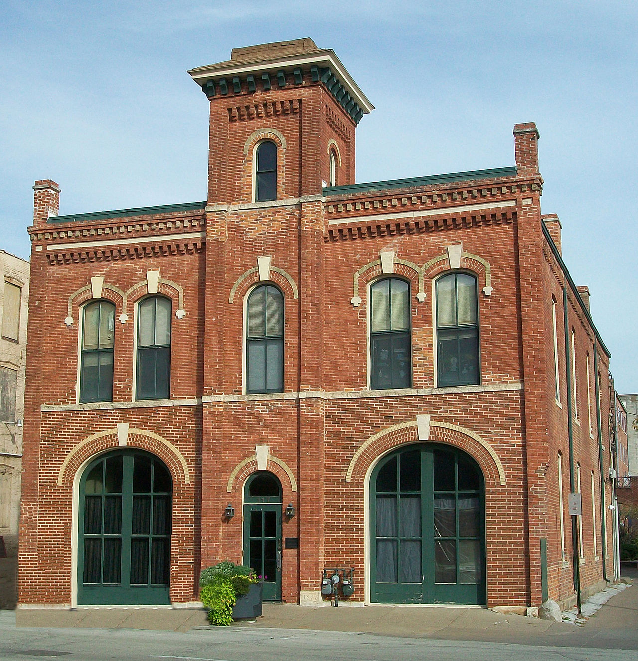 Hose Station No. 1 was built in 1877.