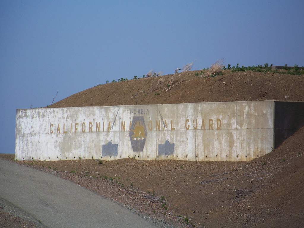 A portion of the former Nike missile facility, closed since 1963. The California National Guard were one of the last units to occupy the station (Wayne Hsieh, Flickr).
