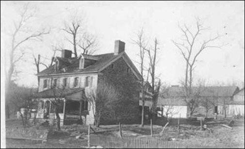 Old Stone House as it looked prior to 1908