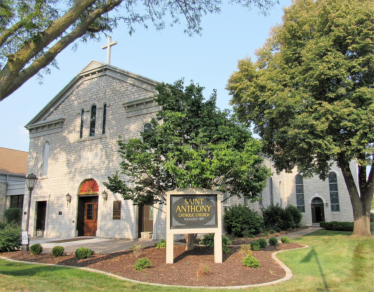 St. Anthony's Catholic Church is home to the second oldest Catholic congregation in the state.
