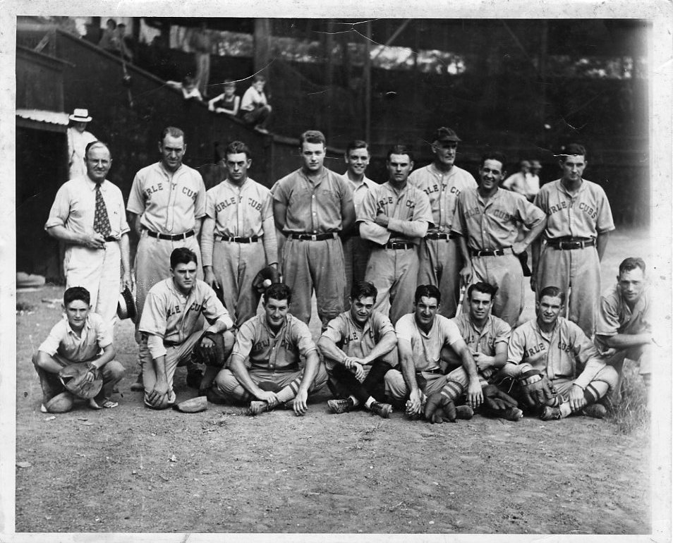 Tusculum Baseball, 1939