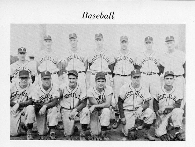 Tusculum Baseball, 1956