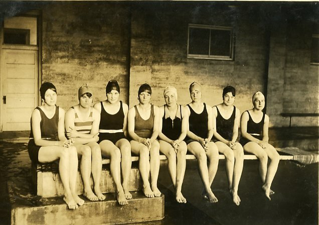 Girls Swim Team, 1928