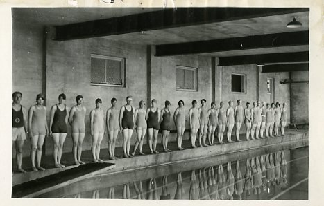 Girls Swim Team, 1920s-1930s