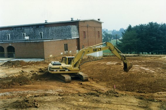 Reconstruction of Niswonger Commons, 1990s