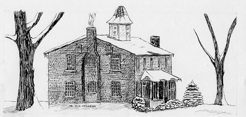 Sketch of Old College