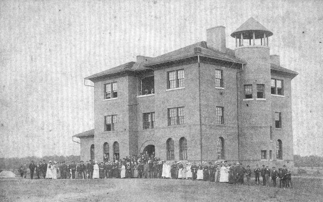 McCormick Hall in 1888.