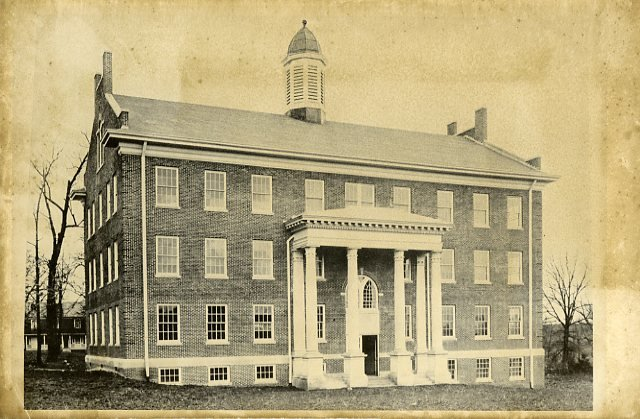 The Science Hall in its first year, 1930.