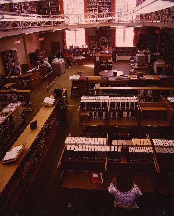 Present day Tate Library, circa 1970s-1980s.