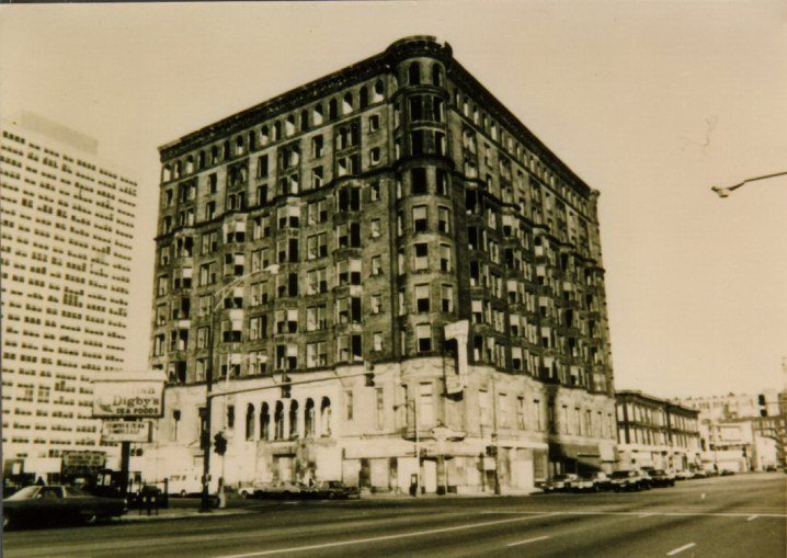 The exterior of the Lexington Hotel