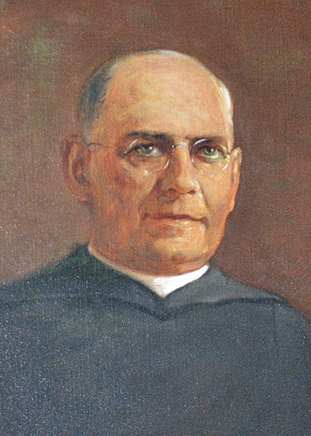Father James F. Green, first pastor of St. Rita