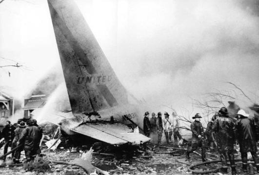 Debris of Flight 553. December 1972.