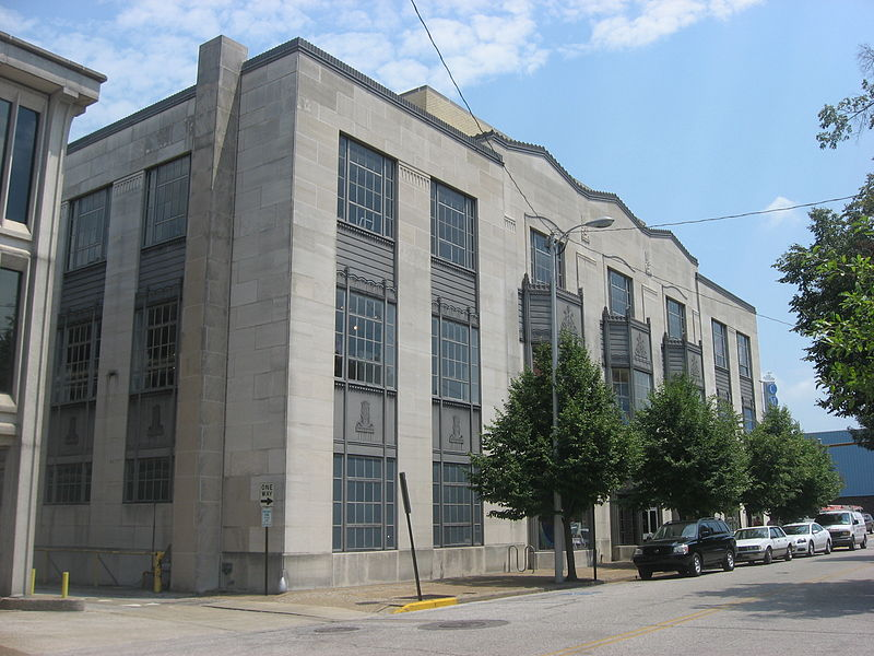 The Children's Museum of Evansville is located in the former Central Library building, which was built in 1931.