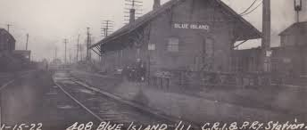 This was the train station in 1892.