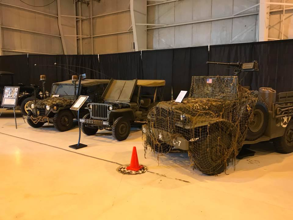 The Evansville Wartime Museum opened in 2017 and features many military vehicles, aircraft, and related items on display.
