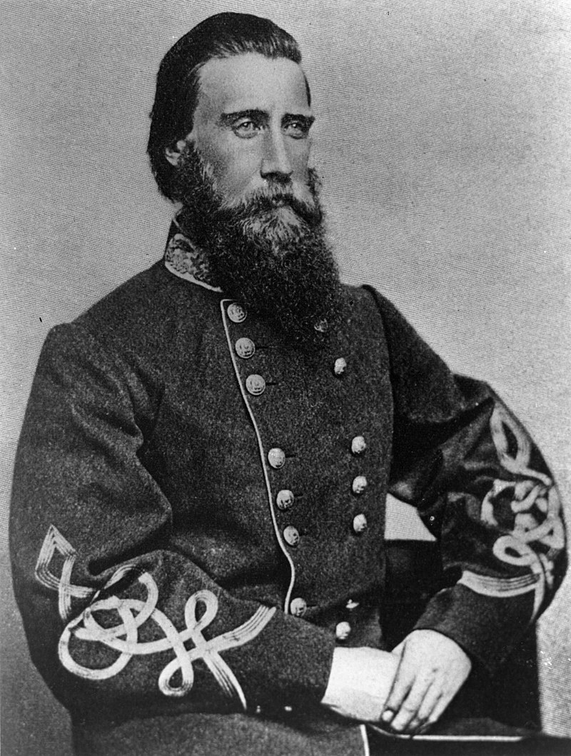 General John Hood, Commander of the Confederate Army during the Battle