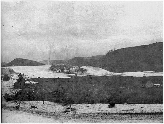 Aftermath of the muck dam collapse