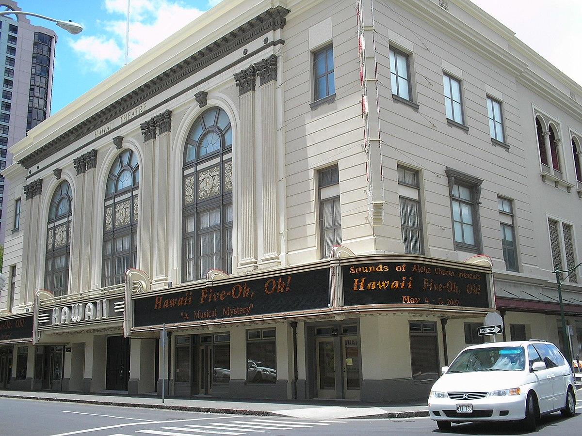 Hawaii Theatre, Honolulu, Hawaii