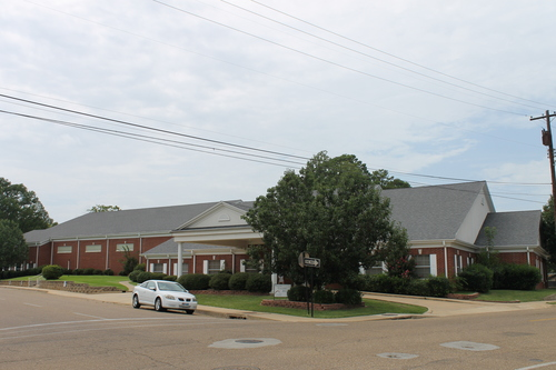 The addition to FBC, the Family Life Center, houses the gymnasium as well as the youth and college ministries.