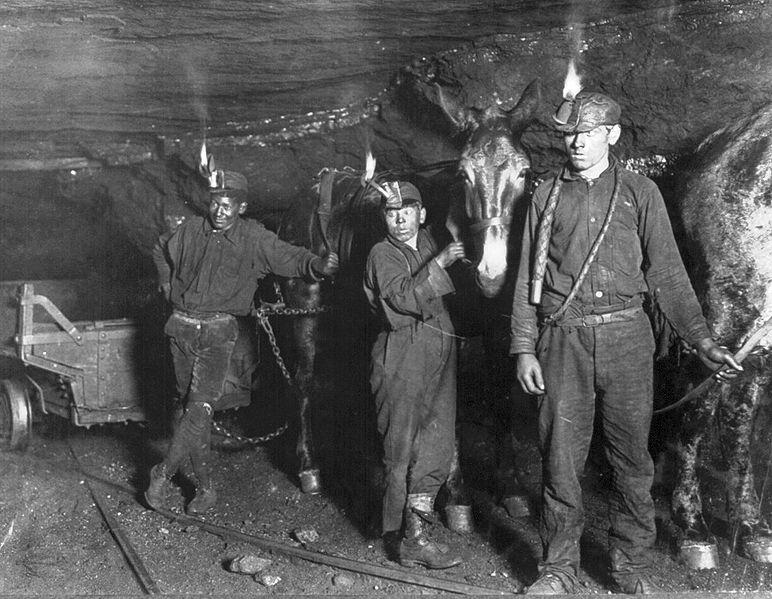 West Virginia coal miners from the early 20th century