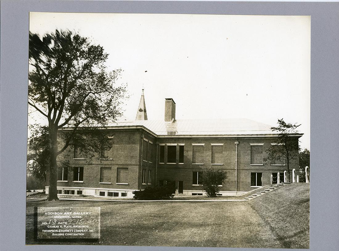 Addison gallry of American Art, south elevation, 1930