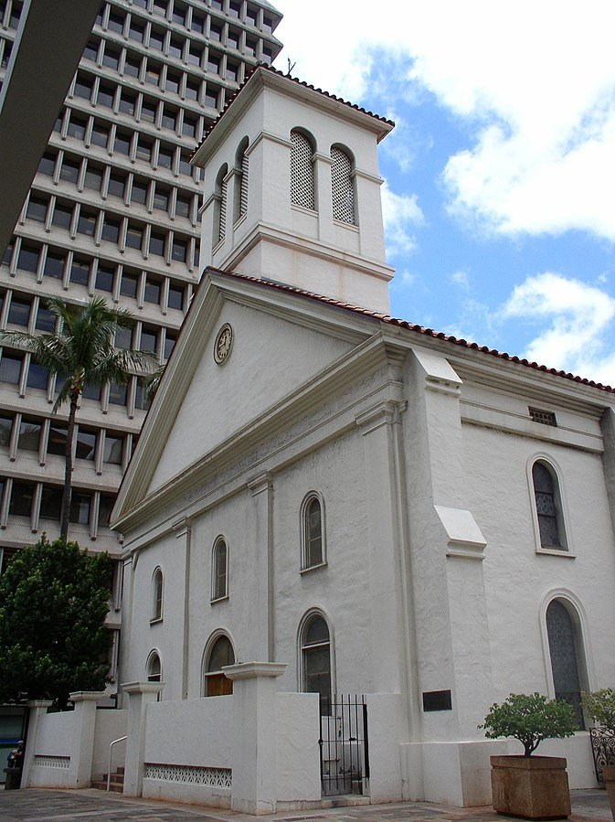 East face of the Cathedral Basilica