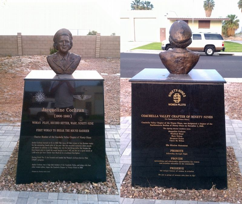 Marker/Monument of Cochran in Coachella Valley