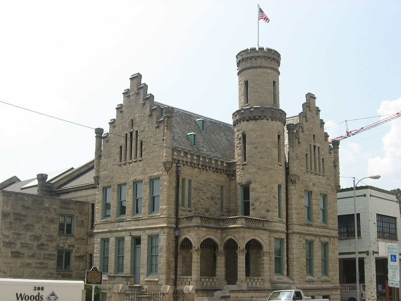 The Old Vanderburgh County Sheriff's Residence and Jail was built in 1891.