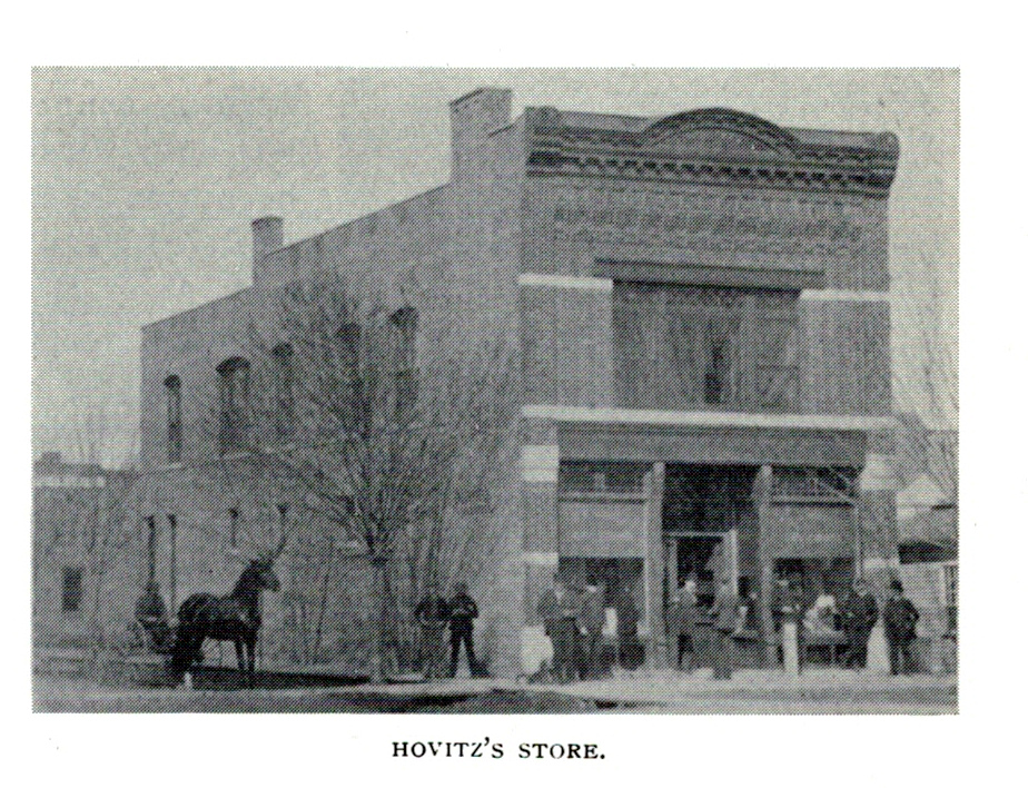 Burnett A. Horvitz Building, south and east elevations, 1897
