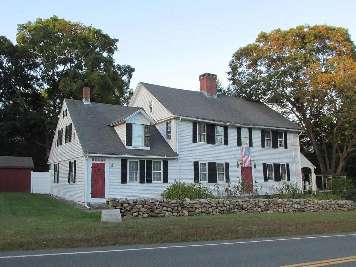 Brigham's Tavern in Coventry, Connecticut