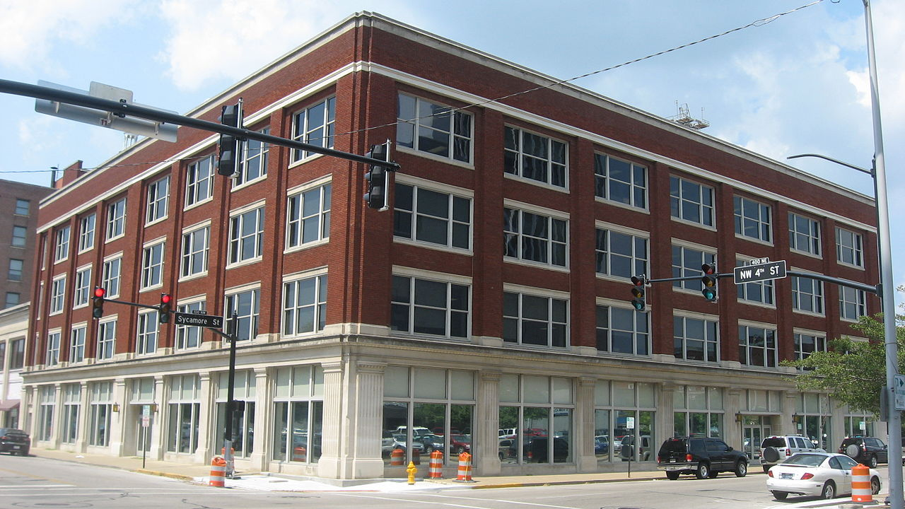 The McCurdy Building was built in 1920 and is significant for the location of the first Sears retail store.