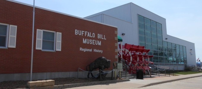 The Buffalo Bill Museum as it stands today.