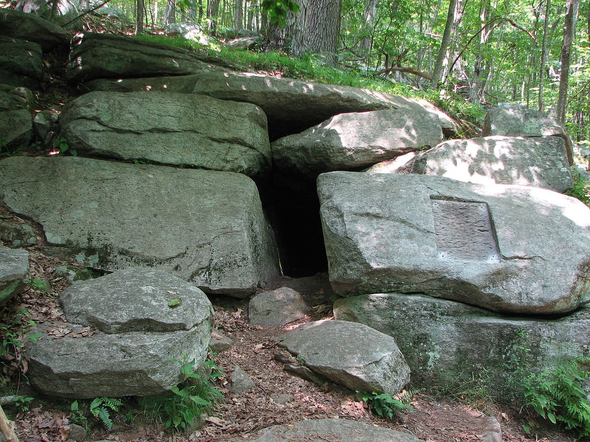 Visitors can hike out to the Wolf Den, which remains relatively unchanged in appearance since Putnam's time.