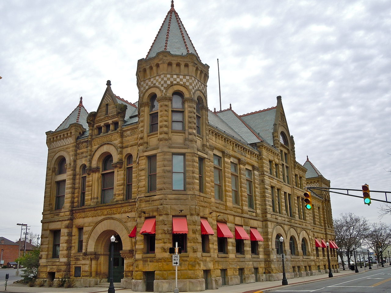 The former city hall building houses the Allen County-Fort Wayne Historical Society and The History Center museum.