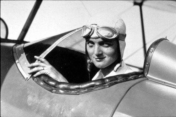 Louise Thaden was second only to Amelia Earhart in her fame. She co-founded the Ninety-Nines, an international organization for female pilots.