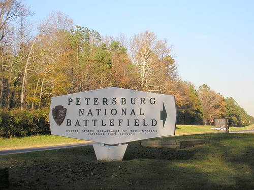 Entrance to the Battlefield Park
