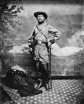 "John Singleton Mosby was infamously known as the ""Gray Ghost"" of the confederacy for his raids on Union territory using guerrilla tactics and the elusiveness of his Partisan rangers"