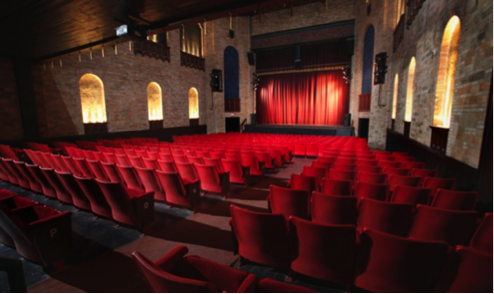 """""""The inside of The Sooner Theater located in downtown Norman, OK"""""""