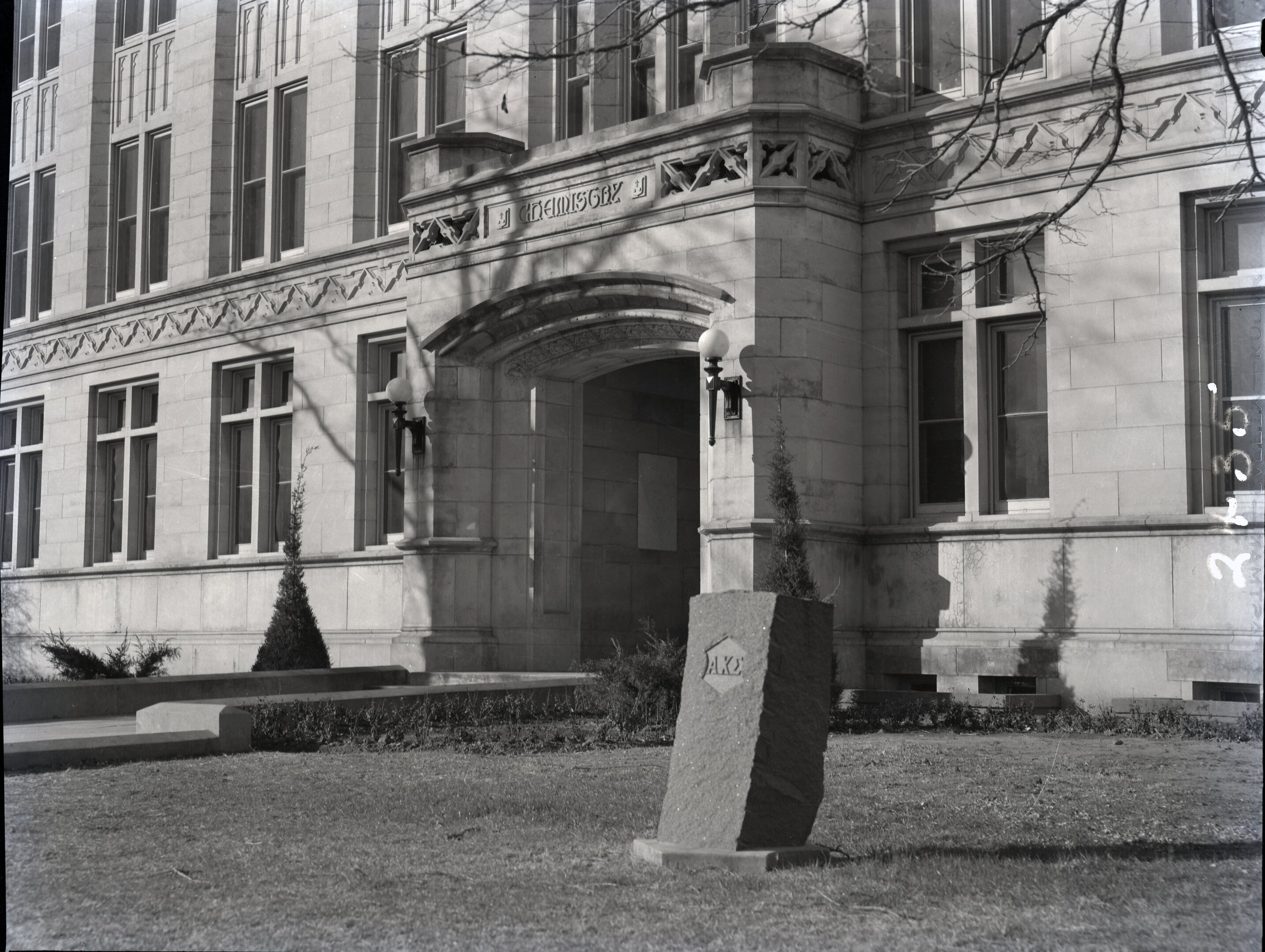 The Chemistry Building when it was still named DeBarr Hall. Its architecture still remains the same today. Only the name has changed.