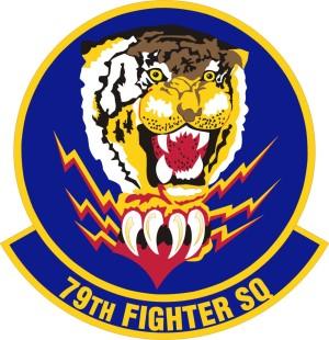 79th Fighter Squadron Insignia