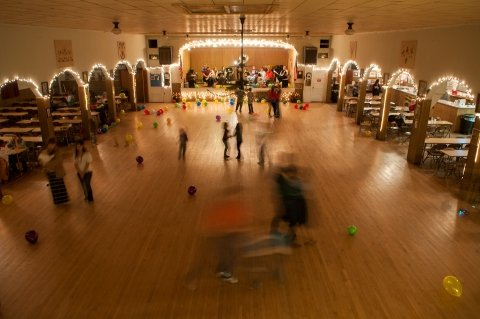 Yukon Czech Hall ballroom  Link: http://www.metrofamilymagazine.com/April-2015/Discover-Yukon-Czech-Hall/