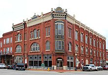 One of the contributing buildings of the Guthrie Historic District
