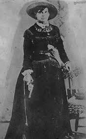 """Belle Starr became known as the """"Queen of the Oklahoma Outlaws"""" for her style and shooting ability."""
