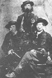 The James-Younger Gang were notorious outlaws who terrorized towns through robberies and other crimes.