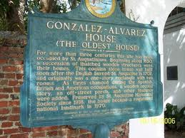 This historical marker describes the history of the house