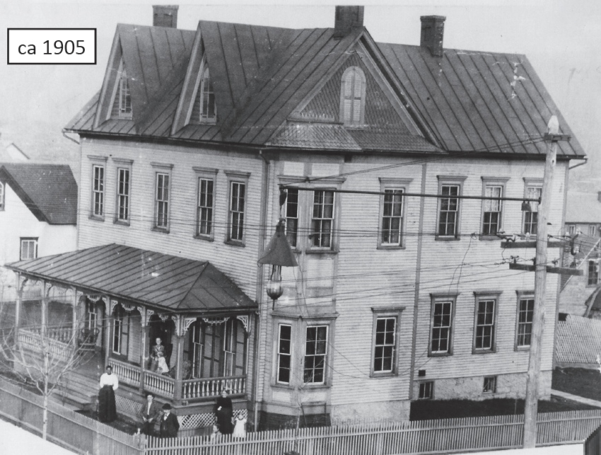 The Meyer House in 1905