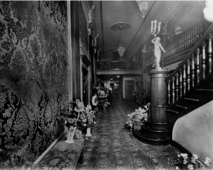 A picture taken of the interior of the theatre during opening weekend.