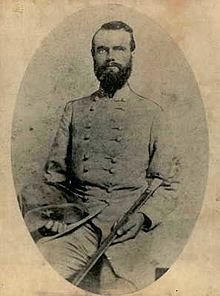 Confederate Brigadier General Richard Gano