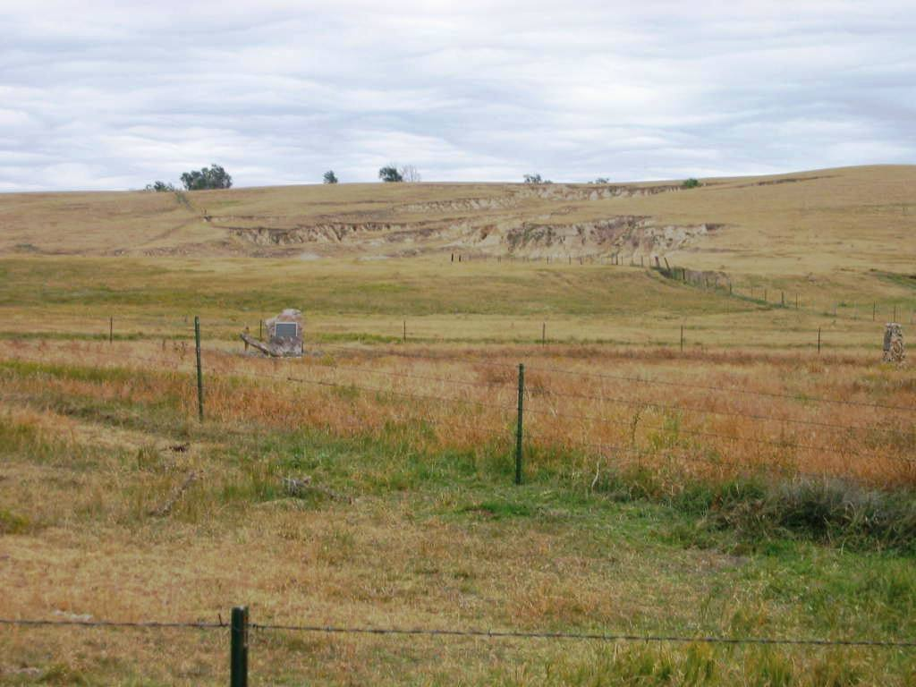 The plains, today, of the Summit Springs battleground