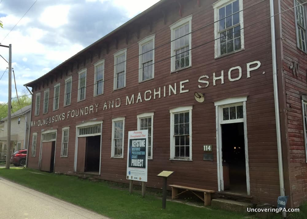 The W.A. Young and Sons Foundry and Machine Shop has sat along the Monongahela River for over 120 years.
